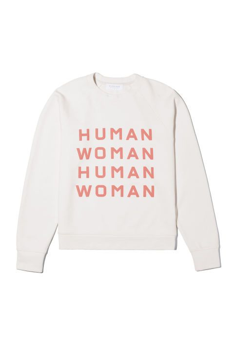 dcb1a2c19a38 Shop the Everlane 100% Human collection and  5 of every sale will be  donated to Equality Now.