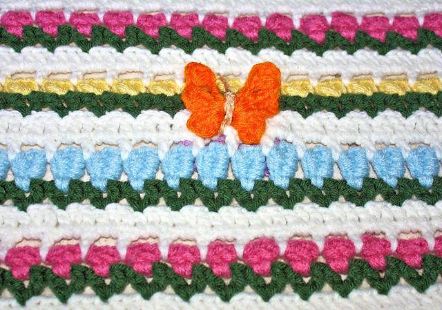 Flowers In Snow Afghan Pattern By Chelsea Craft Afghans Afghan