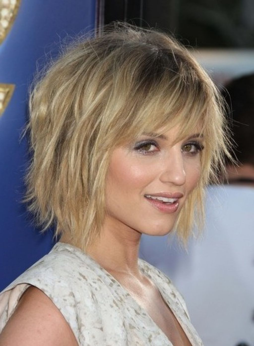 Short Choppy Beachy Hair Layered Hairstyles For Fine