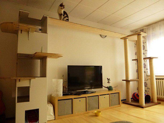 kratzbaum selber bauen 67 ideen und bauanleitungen diy ideen f r erwachsene. Black Bedroom Furniture Sets. Home Design Ideas