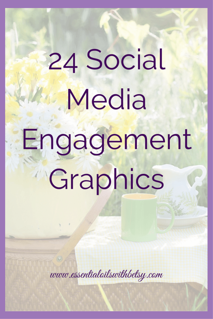 24 Social Media Engagement Graphics Social media