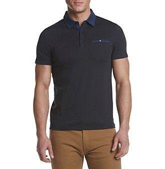 Calvin Klein Men's Liquid Cotton Jersey Polo
