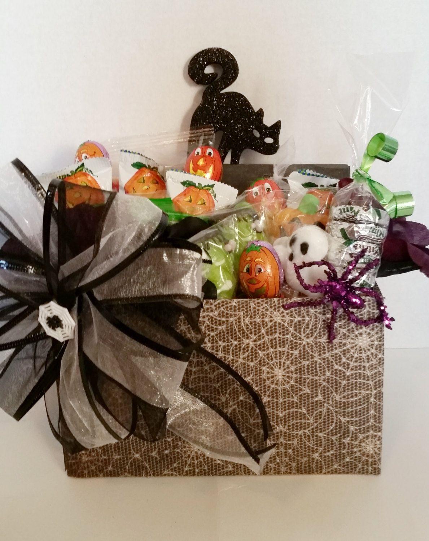 Halloween gift basket -gift basket by CWGiftBasketDesign on Etsy ...