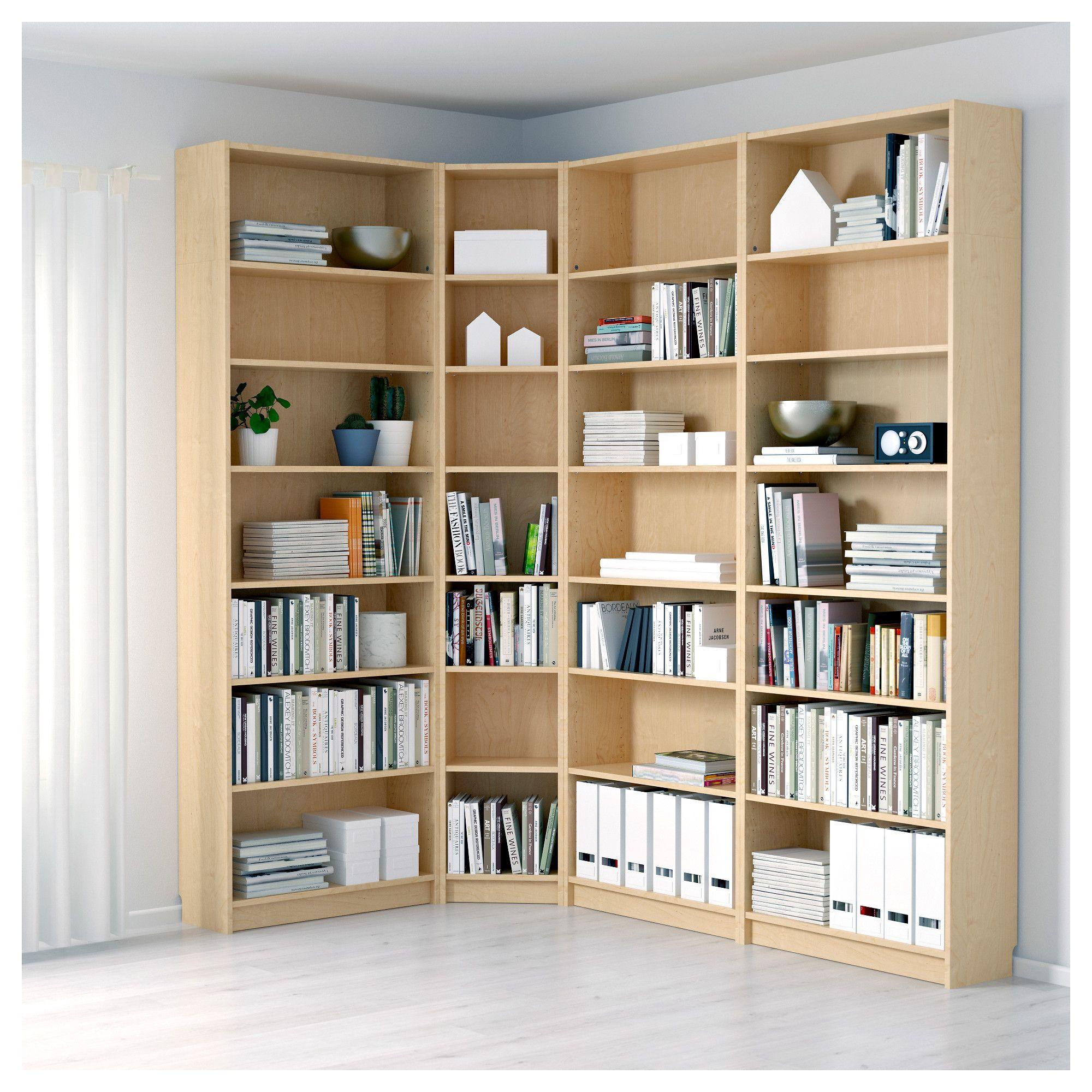 Billy Bookcase Birch Veneer Ikea