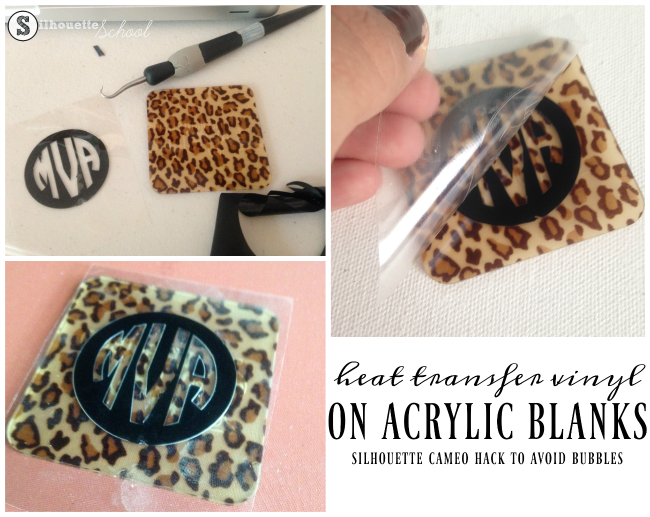 Putting Heat Transfer Vinyl On Acrylic Blanks To Avoid Bubbles Acrylic Keychains Vinyl Vinyl Blanks