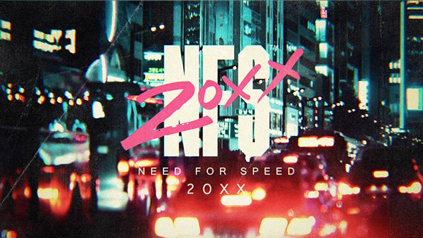Need For Speed 20XX by Bao Nguyen, via Behance