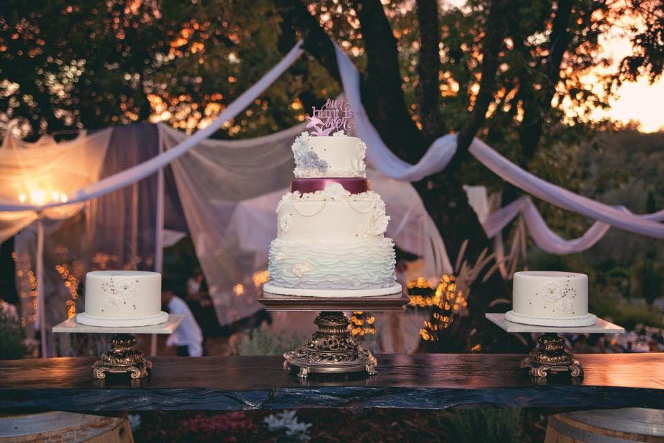 Best wedding cake ever!