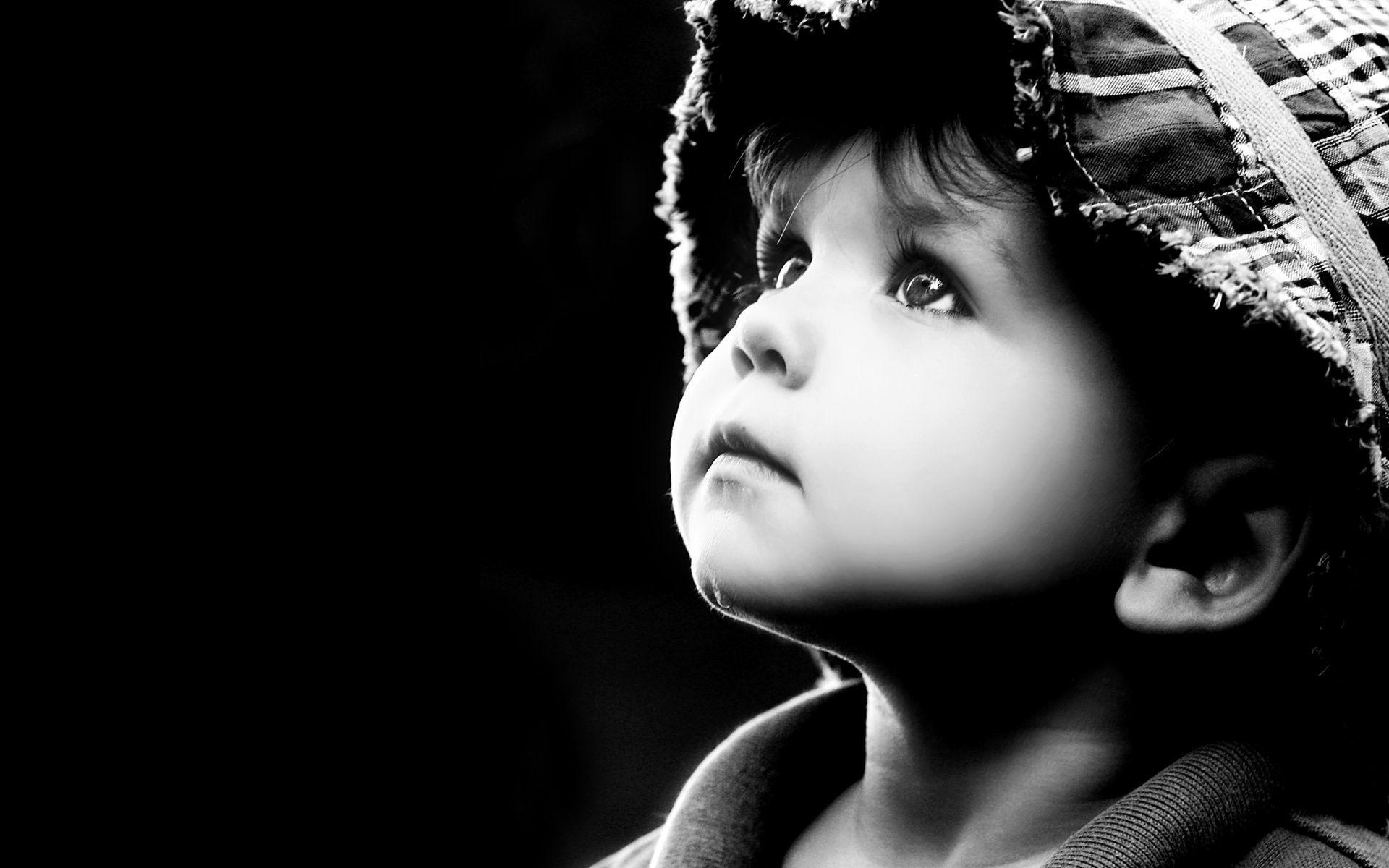Fonds D Ecran Bebe Et Enfants En Noir Et Blanc Maximumwallhd Noir Et Blanc Fond Ecran Photo Noir Et Blanc