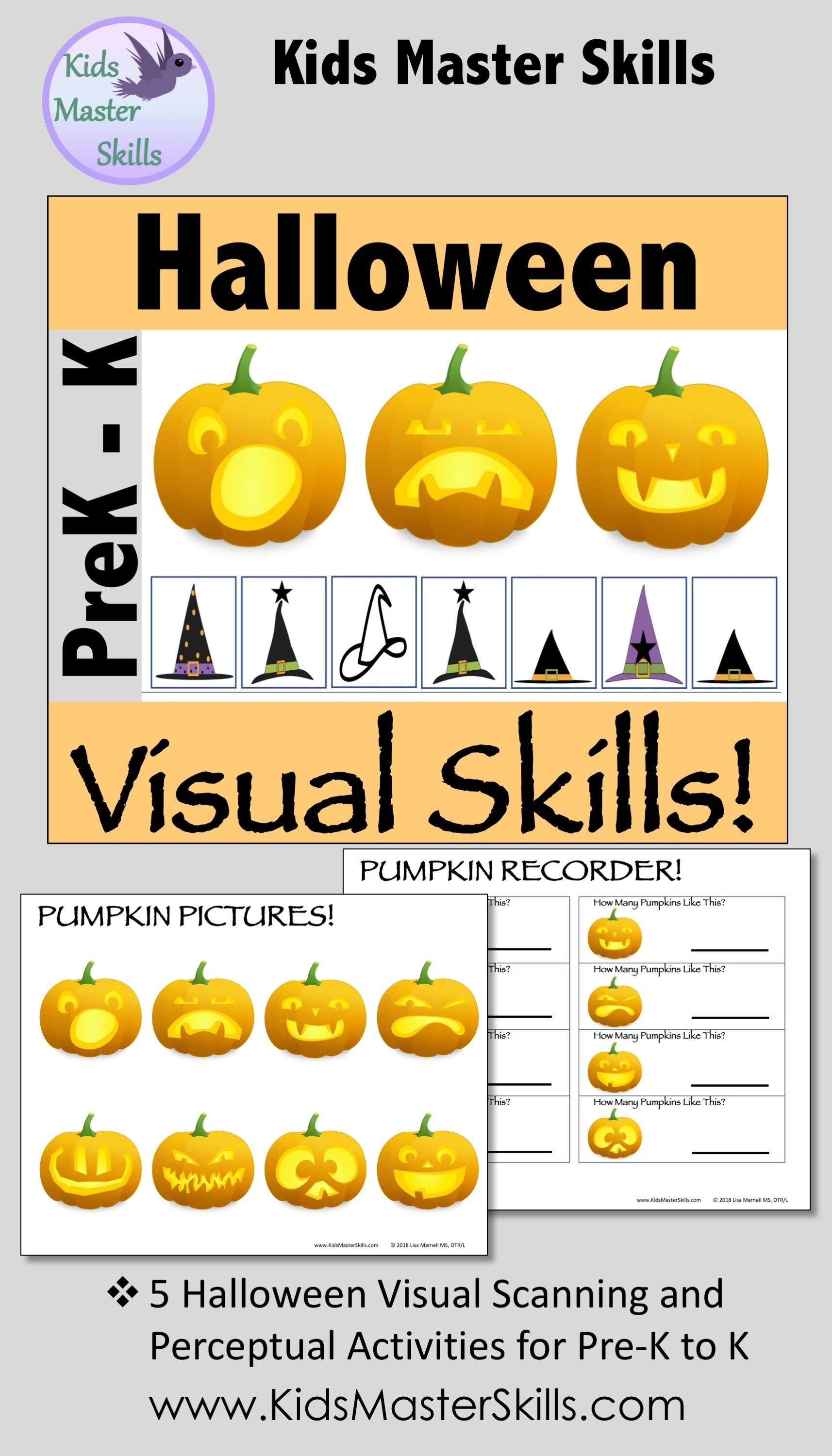 This Resource Offers 5 Halloween Themed Activities That