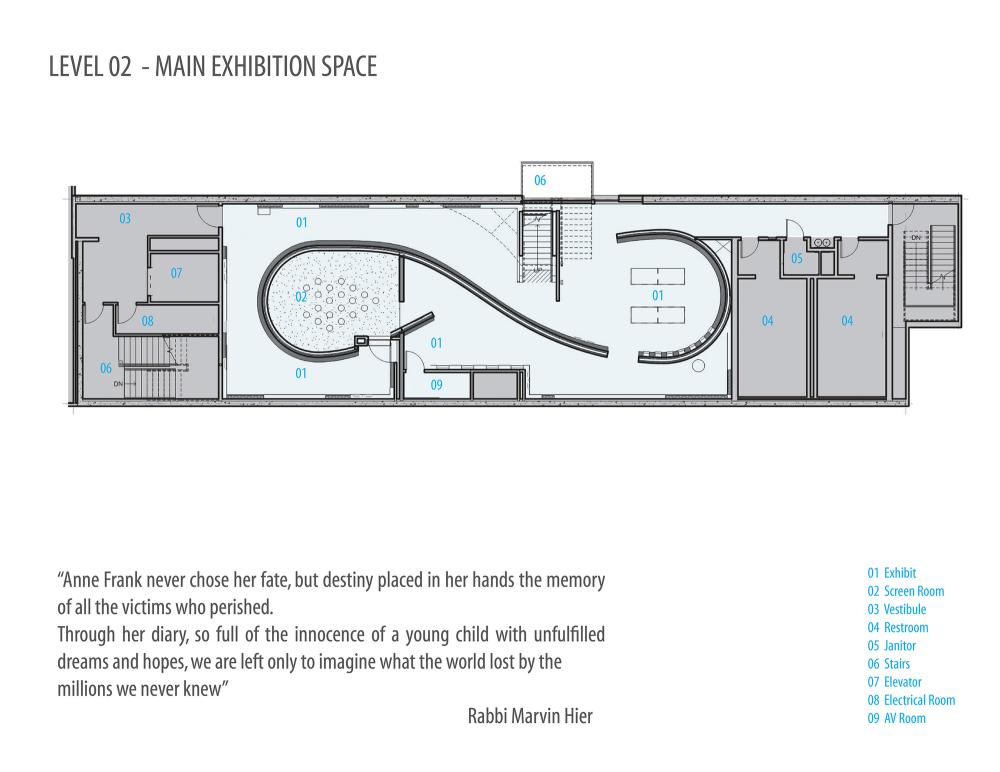 Gallery Of Museum Of Tolerance Anne Frank Exhibit Yazdani Studio Of Cannon Design 14 Museum Of Tolerance Exhibition Plan Exhibition