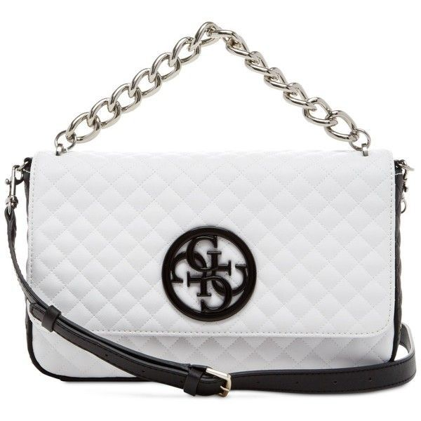 694a073f98 Guess G Lux Crossbody Flap ( 98) ❤ liked on Polyvore featuring bags ...