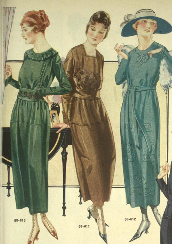 Fashion in the 1920s: Clothing Styles ...