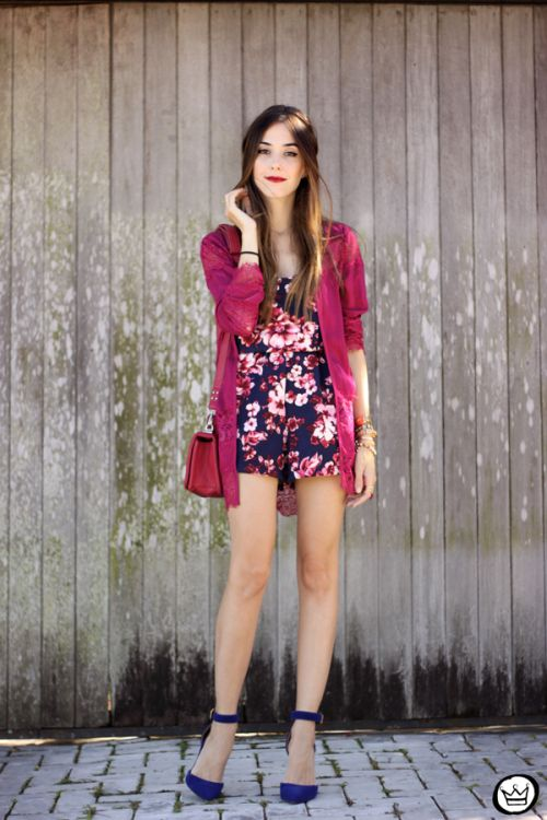 FashionCoolture - 12.03.2015 floral romper lace Sly Wear (1)