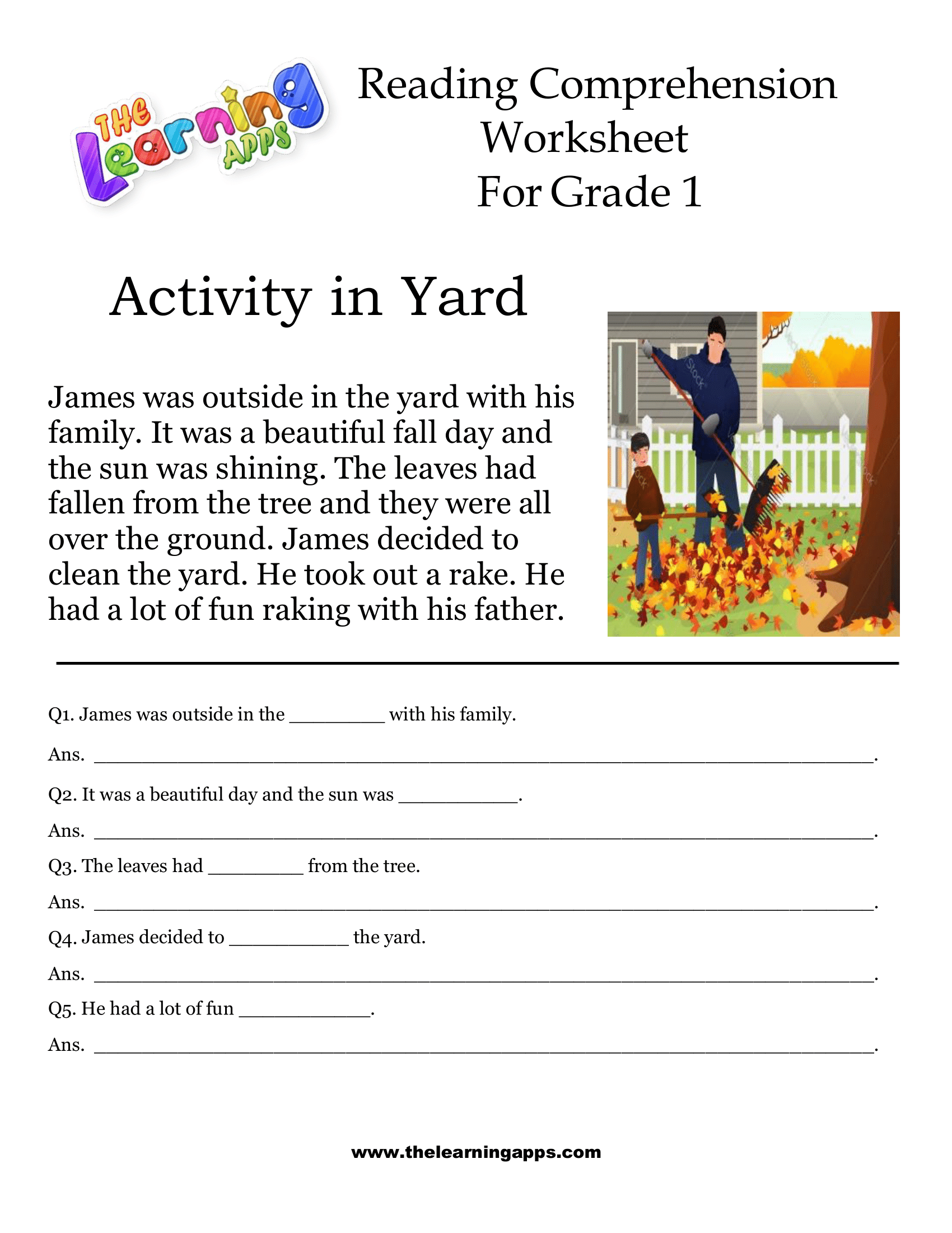 Pin On 1st Grade Reading Comprehension Printable [ 2200 x 1700 Pixel ]