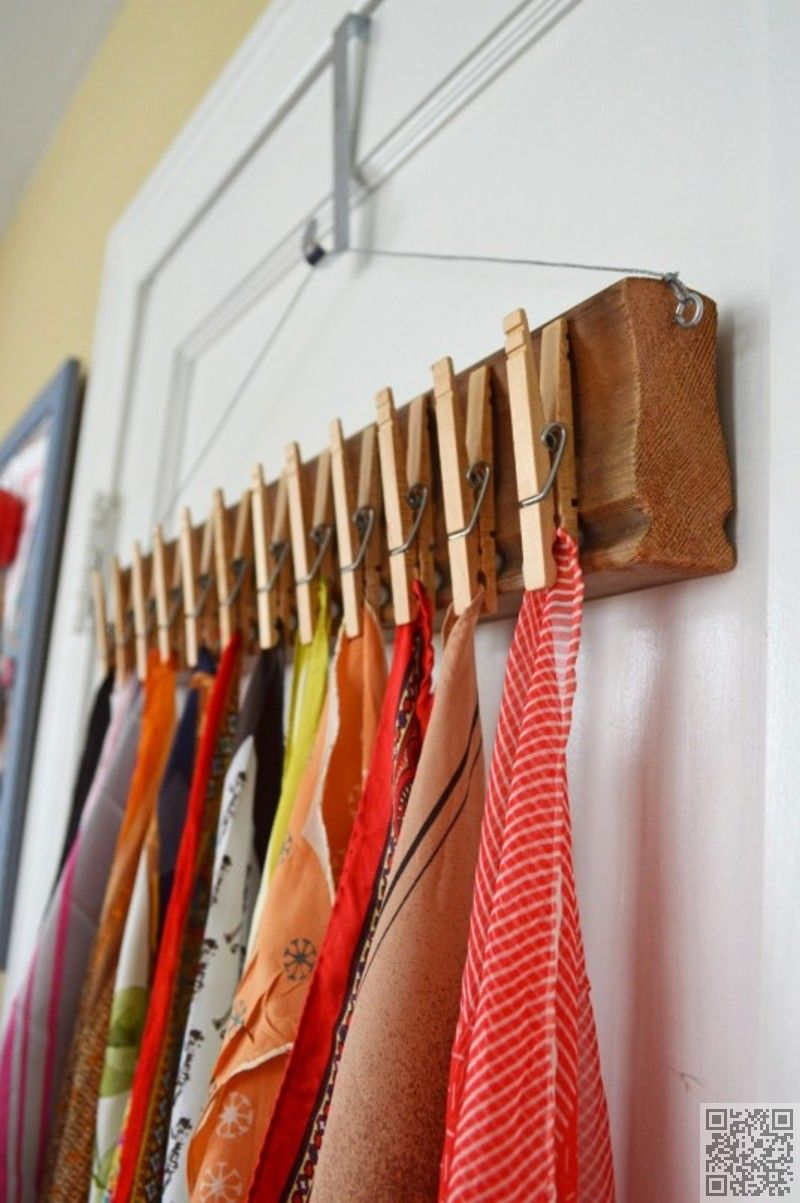 6 Great Ways Of How To Store Scarves This Winter Scarf Storage