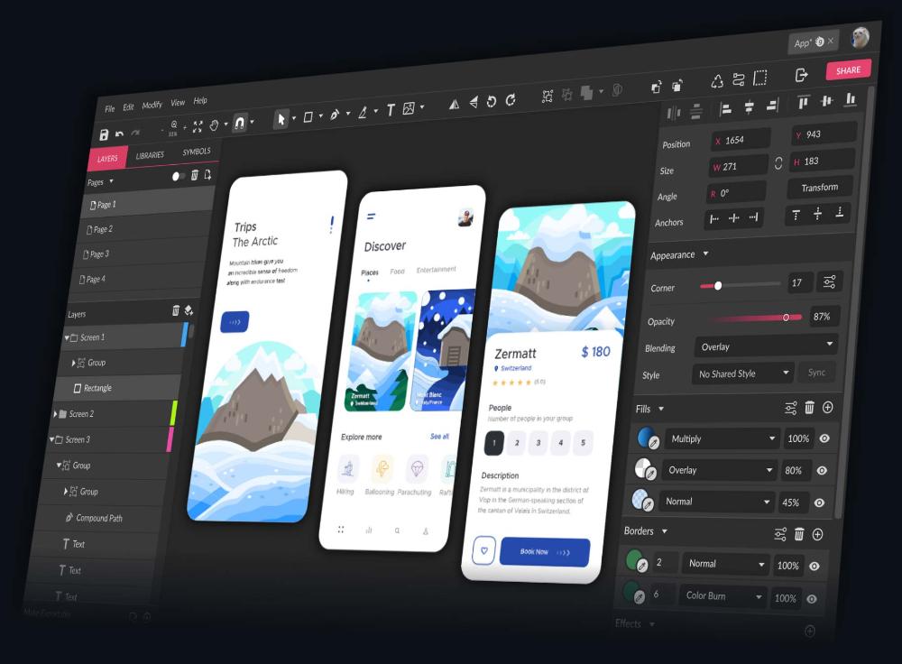 Online Vector Graphic Design App & Icon Image Editor