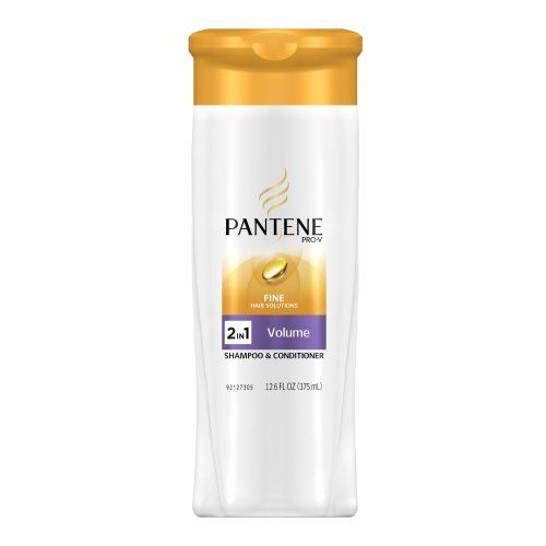 Pantene Pro V Fine Hair Solutions Volume Shampoo And Conditioner