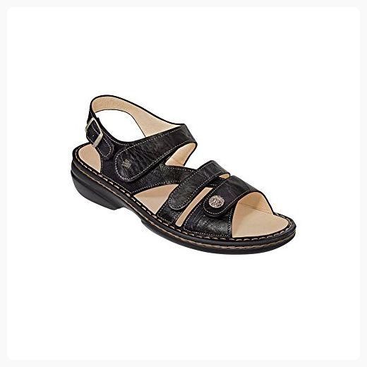 Finn Comfort Soft Gomera Womens Sandals Black Plisseelight Size 43 Partner Link Womens Sandals Sandals Finn Comfort