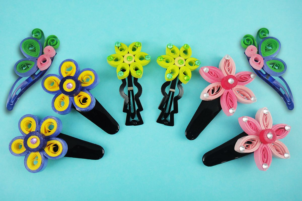 Quilled clips quilled jewelry pinterest quilling quilling