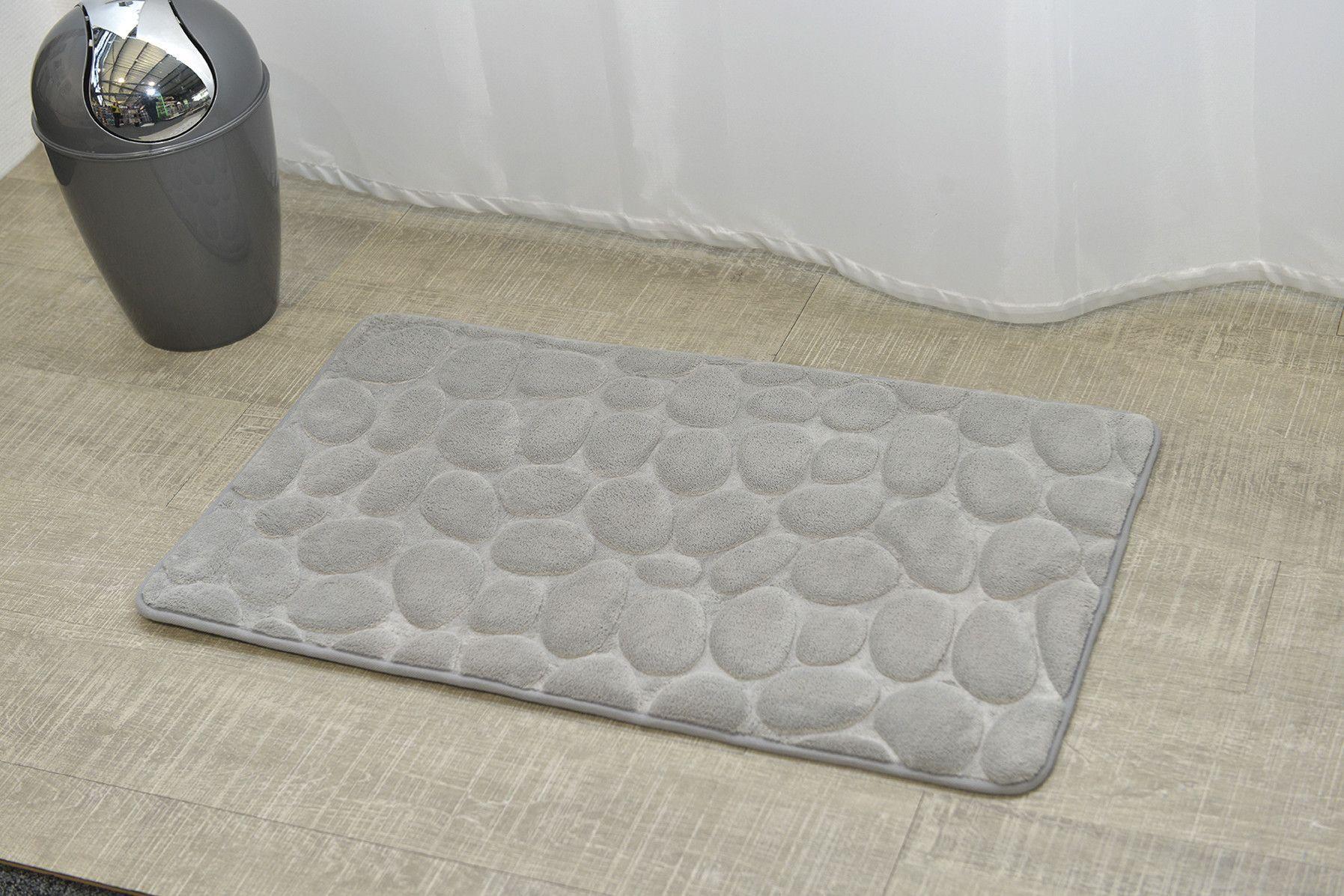 Stone Non Skid Bath Rug