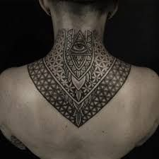 Image result for chest and neck tattoos for females