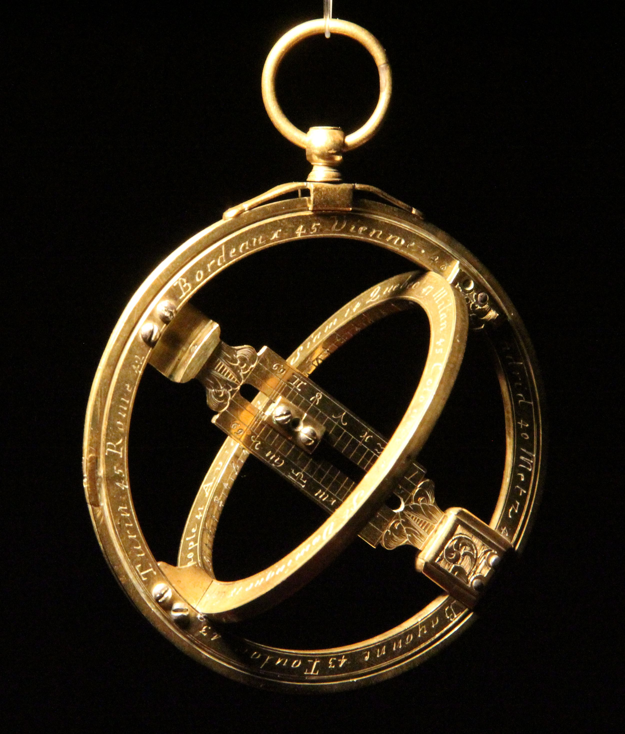 Nicholas Bion Paris C1685 Universal Equinoctial Ring Dial