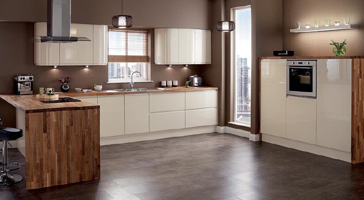Best Magnet Kitchens Planar Cream Modern Contemporary 640 x 480