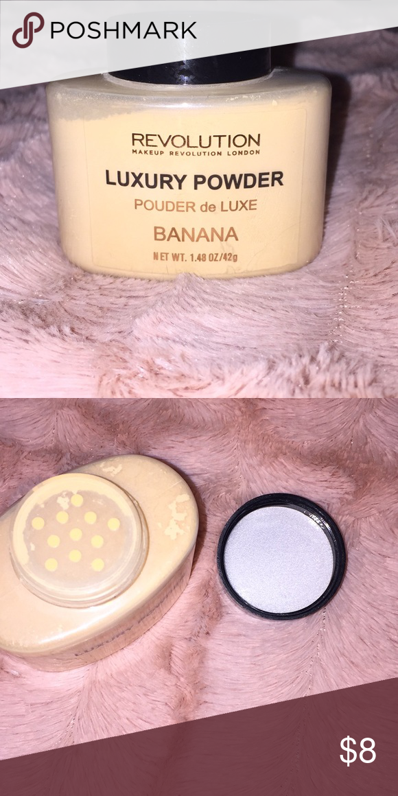 Revolution brand Luxury Banana Powder NWT Banana powder