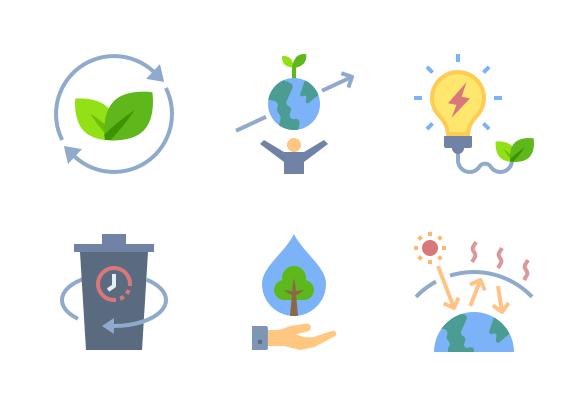 Renewable Energy Icons Set Renewable Energy Icon Set Solar Energy Diy
