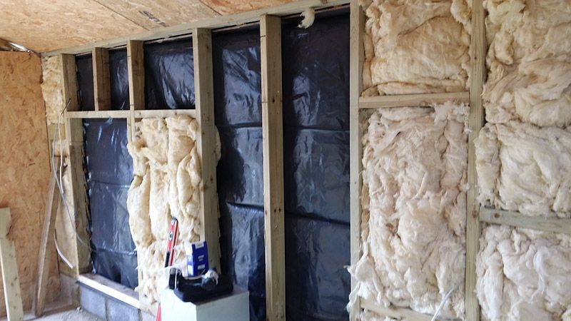 How to convert a shed into a home office insulating a