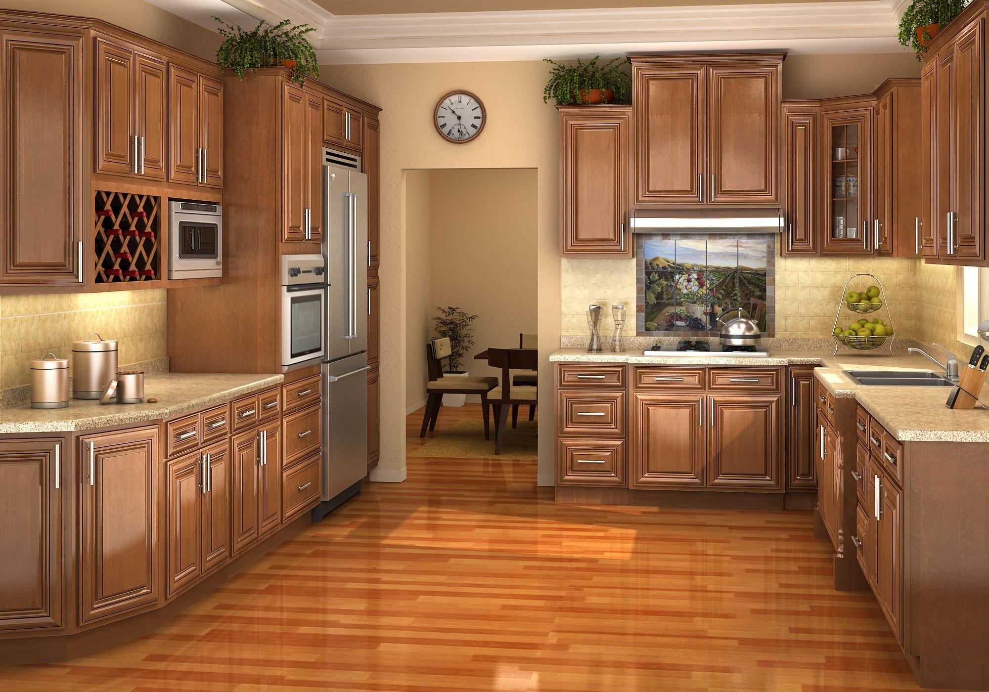 Unique American Oak Kitchen Cabinets Mit Bildern Kuchenumbau Ahorn Kuchenschranke Kuche Farbideen