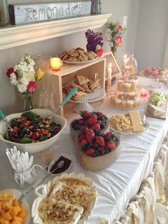 cheese and wine bridal shower