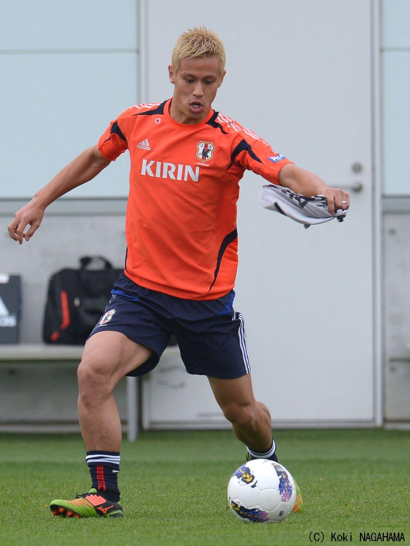 Keisuke Honda Japan OMGosh Look at those legs