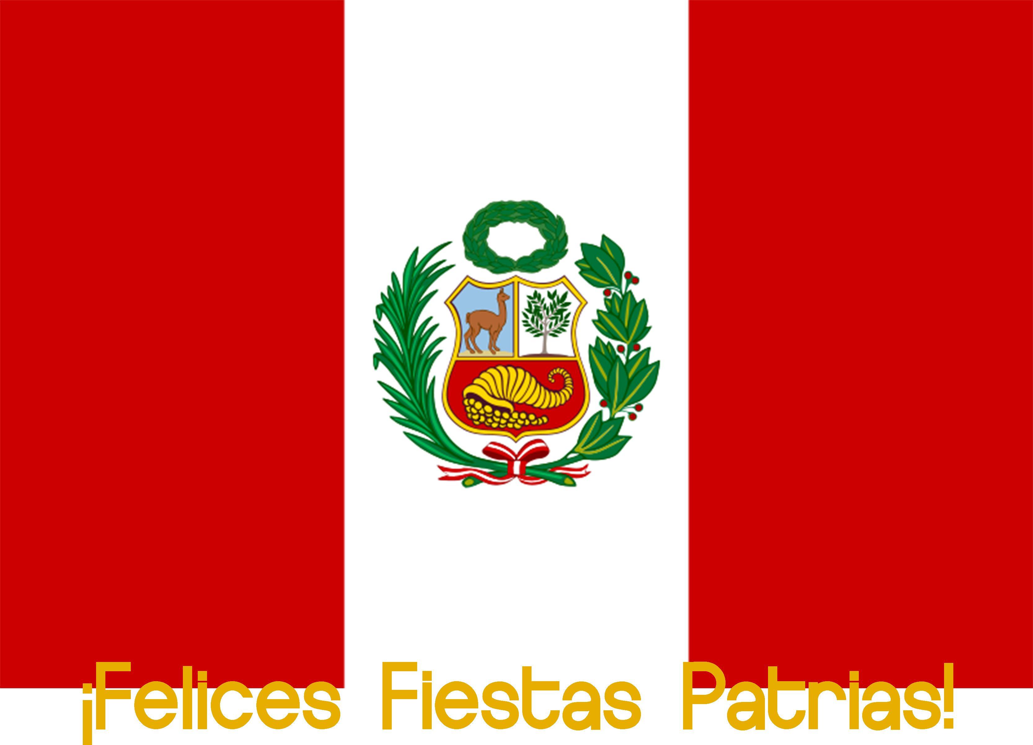 Felices Fiestas Patrias El Peru Gbc Desea Que Puedan Disfrutar De Este Feriado Largo Haciendo Lo Que Mas Les Guste Pero Siempre Peru Flag Flag Peruvian Flag