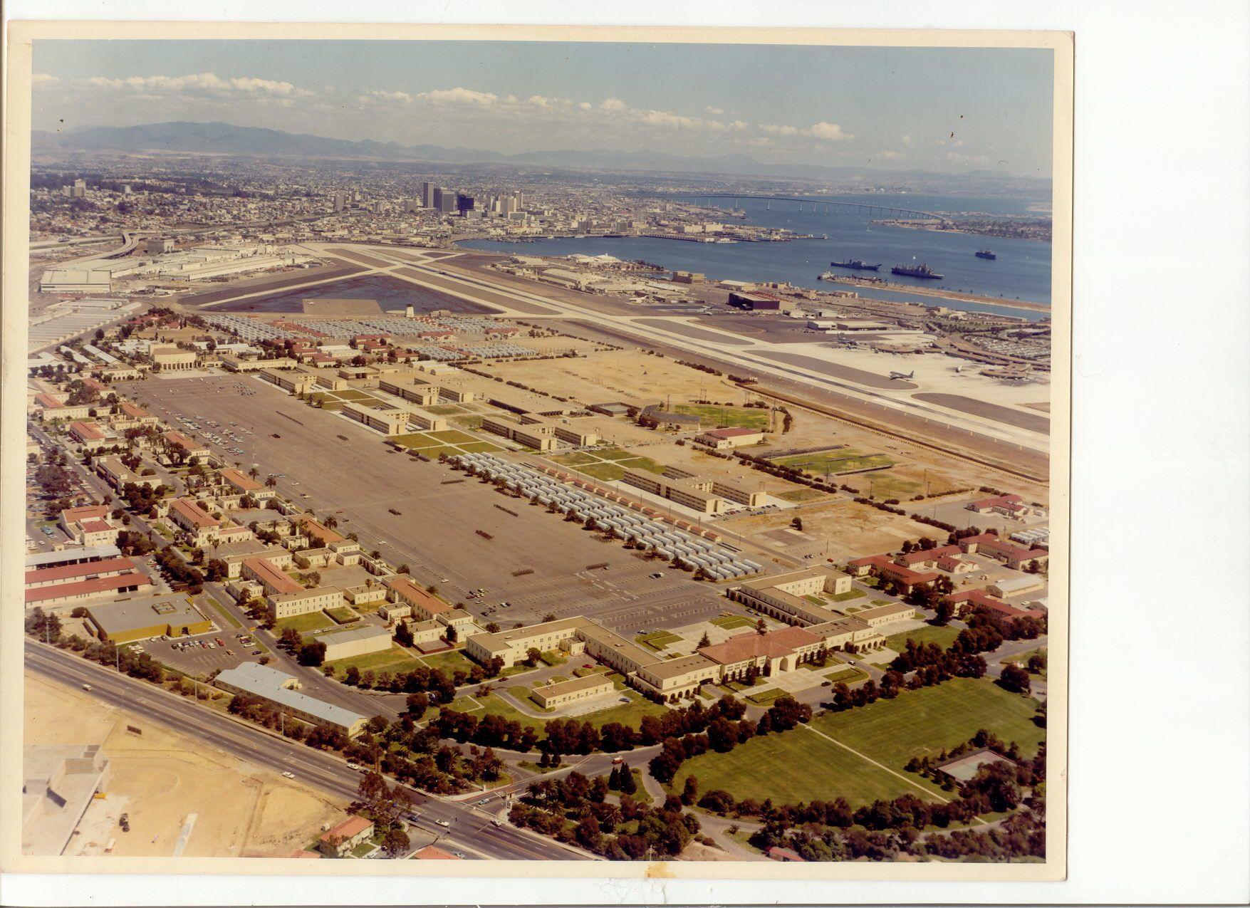 Aerial View of MCRD | Marines | Pinterest | Marine corps ...