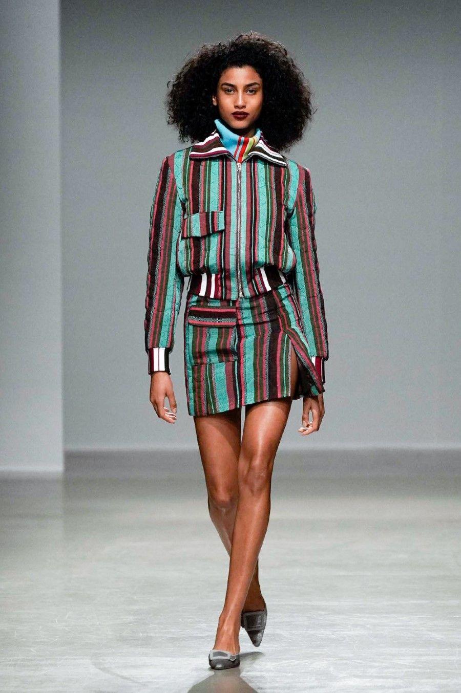 Kenneth Ize – Fall/Winter 2020 – Paris Fashion Week – fashionotography
