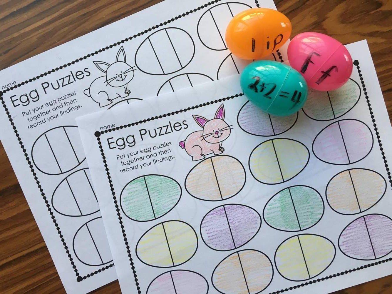 Plastic Egg Recording Sheets