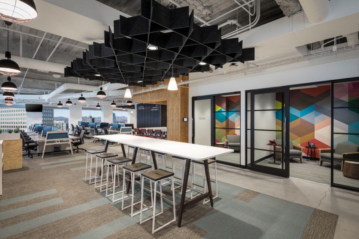 Opentable O A Corporate Interiors Break Room Warehouse Design