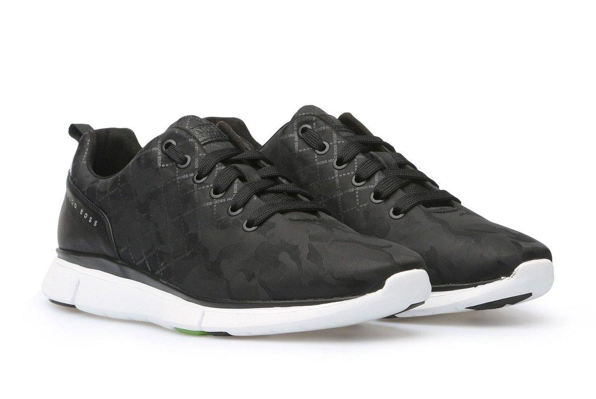 Zapatos Hugo Boss Negro - Gym Runn  17a73e836bf49