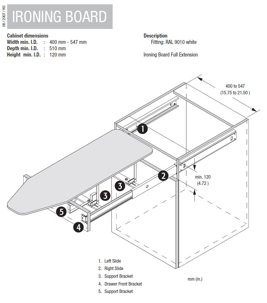 Http Www Maxisale Com Au Drawer Mounted Ironing Board Vauth Sagel Html Ironing Board Drawers Iron Board