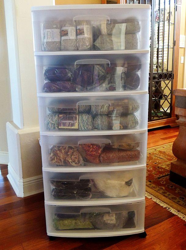 16 Clever Yarn Storage Ideas Life Creatively Organized