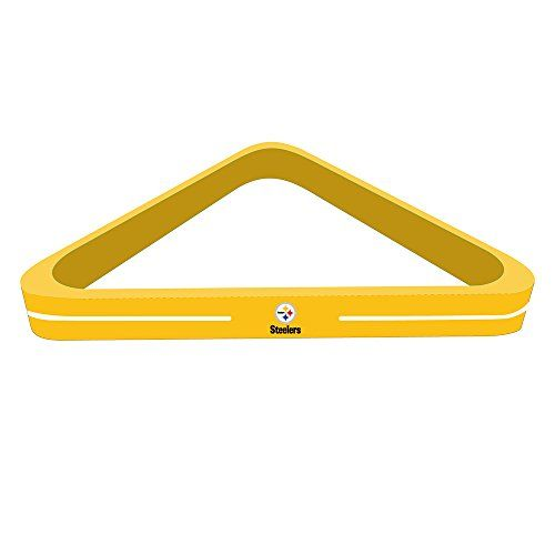 Imperial Officially Licensed NFL Merchandise Wood Triangle BilliardPool  Ball Rack Pittsburgh Steelers    Check Out This Great Product.