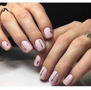 Cute Lines Dots Nail Art Design To Try Now 20 Simple Acrylic Nails Minimalist Nails Dots Nails