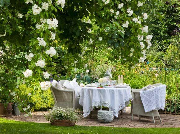 Romantischer Garten | Garten Ein Romantischer Garten