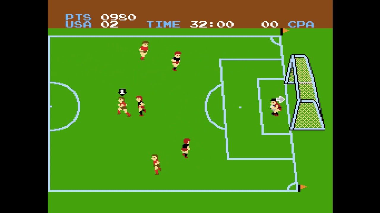 Arcade games volume 2 vs soccer despite the