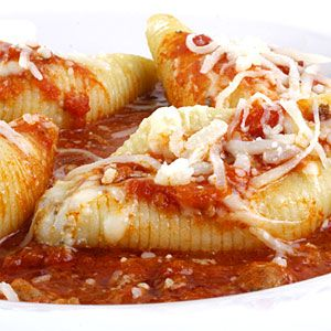 Image result for Stuffed shells and cheese