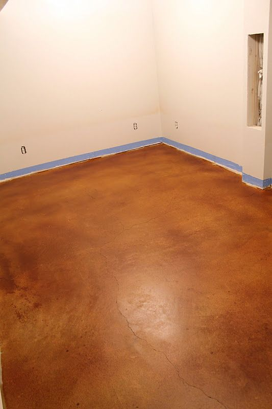 Stained concrete floors outtakes cement room and concrete acid treatment on cement floor good video on how to do it i am so solutioingenieria Choice Image