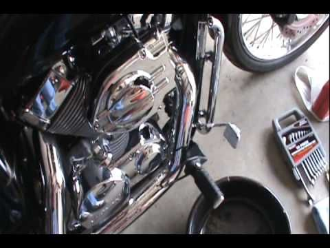 How To Do An Oil Change On A Honda Shadow Spirit 750 Part 1 Tools