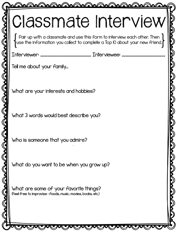 Interview with a social worker essay