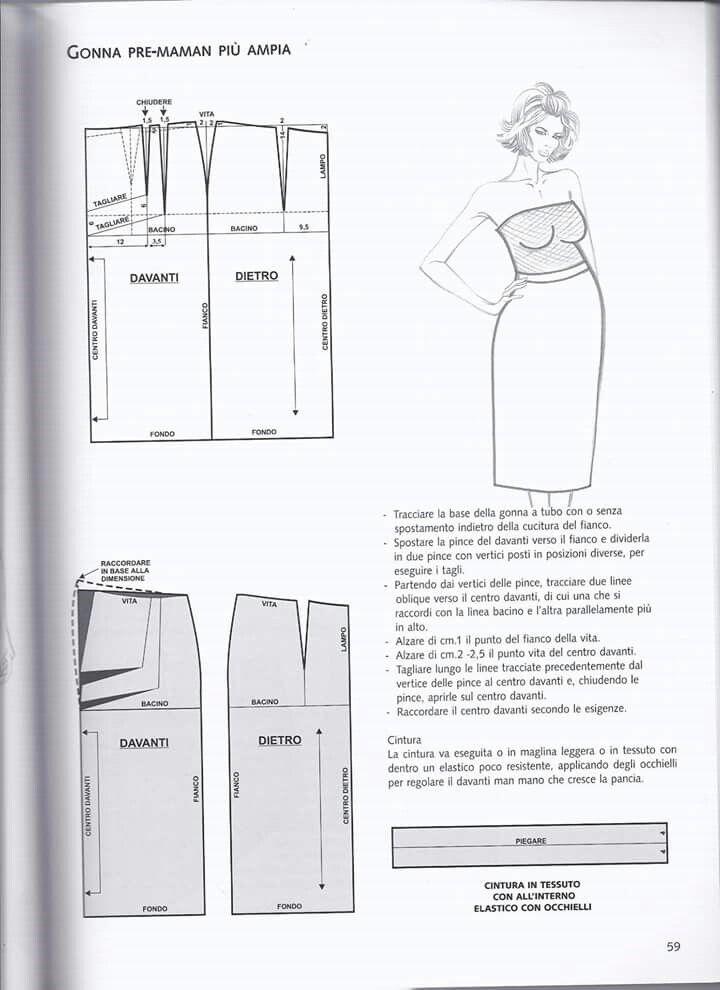 tk1. t59 | моделируем и шьем | Pinterest | Costura, Patronaje y Patrones